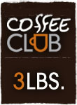 Coffee Club 3 lb.